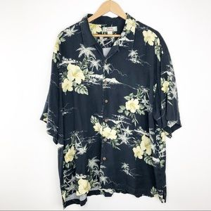 🌿 Tommy Bahama 100% Silk Classic Tropical Shirt